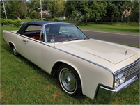 For sale 1963 Lincoln convertible