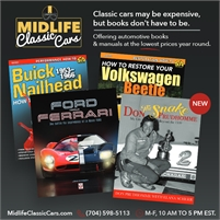 MidlifeClassicCars.com Automotive Books At A Discount Price
