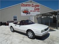 1992 Cadillac Allante Convertible #12528