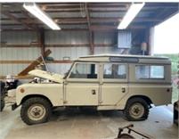 1967 Range Rover station wagon model 109