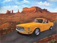 Classic Car Art by Sharon