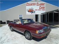 1986 Chrysler Le Baron #12843