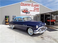 1951 Buick Series 40 Special Deluxe 4dr Sedan #11608
