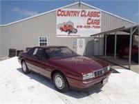1987 Cadillac Allante Convertible #12061