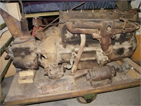 1937 GMC OLDSMOBILE ENGINE & TRANSMISSION from 1937 GMC COE