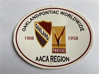 1 Year Free Membership to Oakland-Pontiac Worldwide AACA Region