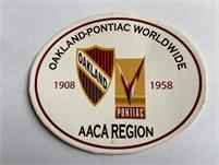 1 Year Free Membership to Oakland-Pontiac Worldwide AACA Region