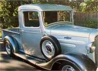 36 EARLY CHEVY P/U ALL STEEL