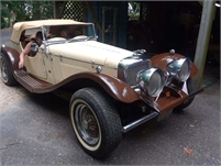 1938 Jaguar SS100 REPLICAR