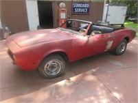 1968 Camaro Convertible AZ Car