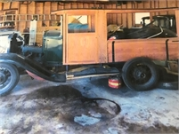 Model A Ford Huckster Wagon Project
