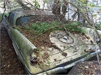 1961 Imperial 4d HT parts car