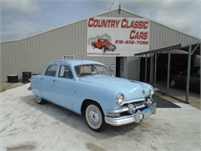 1951 ford 4 door sedan #12591