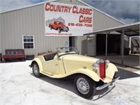 1950 MG TD Convertible #12115