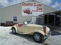 1952 MG TD convt #12611