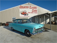 1955 Plymouth Savoy 4dr sedan #12252