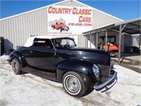 1939 Ford Conv St Rod #11885