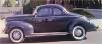 FOR SALE: 1939 FORD DELUXE COUPE