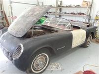 1954 Corvette Project Car