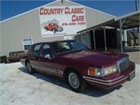 1993 Lincoln town car #12835
