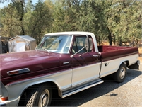 1970 Ford Pickup Camper Special & 1972 Chevy Cheyenne