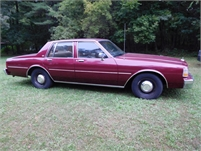 1989 Chevrolet Caprice 9C1 4dr sedan