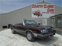 1982 Chrysler LeBaron #12534