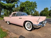 1957 Ford Thunderbird pink