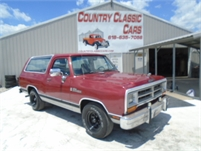 1989 Dodge Ram Charger #12655