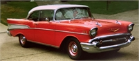 1957 Chevy 3 Dr. H.T. Bel Air