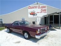 1977 Ford Ranchero 500 #12759