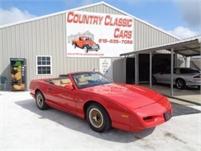 1992 Pontiac Firebird Convertible #11321