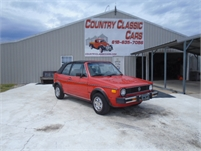 1985 VW Rabbit Cabriolet Conv #9666