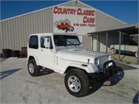 1989 Jeep Wrangler #12364