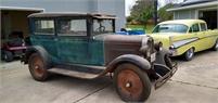 1928 Chevy two door sedan
