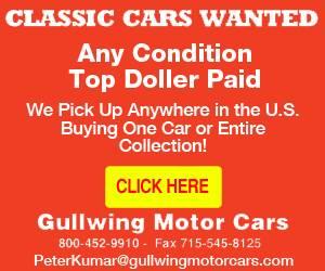 Gullwing Motor Car