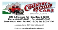 Country Classic Cars Country Classic